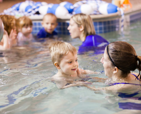 Toddler Swim Lessons Waves Swim School